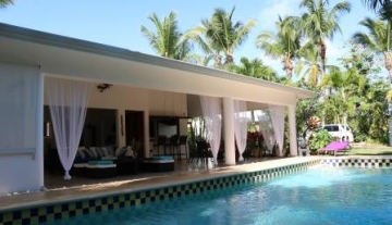 Charming caribean Villa nearby beach