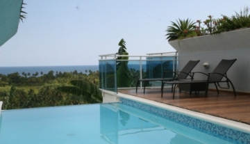Flat Villa with sea-view !